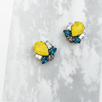 Bijoux earring in yellow