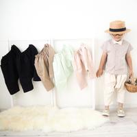L【6color】itsumo big pocket pants