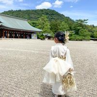 【110-120】2step kimono(shiromuku)