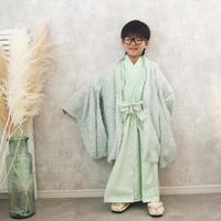 【レンタル】2 ステップ袴(5歳用ミント)
