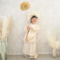 【レンタル】2 ステップ袴(7歳用ホワイト)