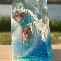 CrystalCube M longsize Skybluefish