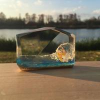 CrystalCube S Long size yellow finout