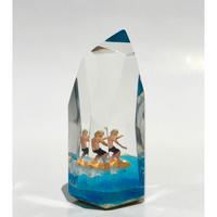 CrystalCube S Tall size orangefish