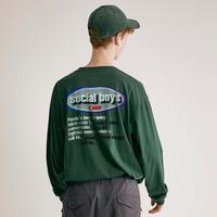 social boys L/S Tee(GRN)