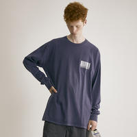 Pigment binary2019 L/S Tee(NVY)