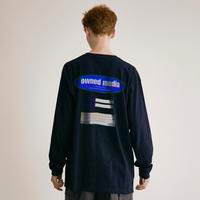 owned media L/S Tee(NVY)