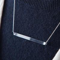 sandblast necklace / 20-n11