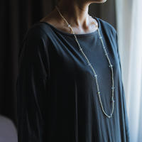 prism×pearl neckless / 19-n21