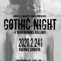 GOTHIC NIGHT-4DIMENSIONS KILLING-PRESENT CD
