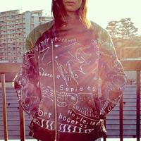 OMA overdrawing 革 leather 05 「頭足類 Cephalopoda」