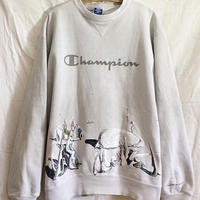 【On champion】OMA overdrawing sweatshirt 72  イヴ・タンギー