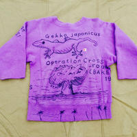 【on champion】OMA overdrawing トレーナー41 mutation length (2TOP line) 「ヤモリと核実験|Geckos and  nuclear tests」