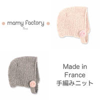 mamy factory 手編みニット帽子 (15018)