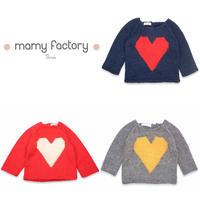 mamy factory 手編みニットセーター (15023)