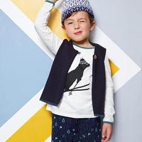 BLUNE 長袖プリントTシャツ(16030)