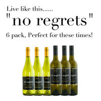 "Live like this...... ""No Regrets"" 6 pack, Perfect for these times!"