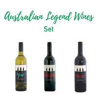オーストラリアン レジェンド  3本 セット Oz Legends 3 bottle sample pack!