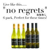 """Live like this...... """"No Regrets / 後悔なし"""" 6 pack, Perfect for these times!"""