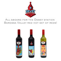 All aboard for the Dewey station Barossa Valley red hot set of reds!