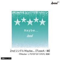 【通常盤】Awww!2ndシングル「Maybe…」