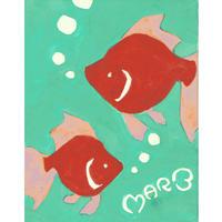 【日本画】3/3 Goldfishキンギョ『366DAYS』