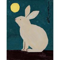 【日本画】9/26 Rabbitウサギ『366DAYS』