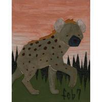 【日本画】2/7 Hyenaハイエナ『366DAYS』