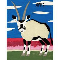 【日本画】4/5 Oryxオリックス『366DAYS』