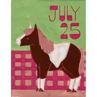 【日本画】7/25 Ponyポニー『366DAYS』