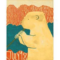 【日本画】7/18 Prairie dogプレーリードッグ『366DAYS』