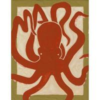【日本画】3/5 Octopusタコ『366DAYS』