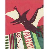 【日本画】8/22 Pteranodonプテラノドン『366DAYS』