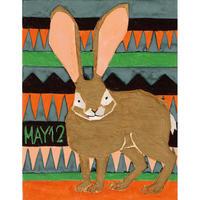 【日本画】5/12 Jack rabbitジャックラビット『366DAYS』