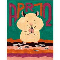 【日本画】4/12 Hamsterハムスター『366DAYS』