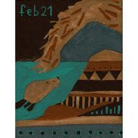 【日本画】2/21 Beaverビーバー『366DAYS』