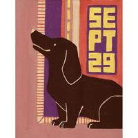 【日本画】9/29 Dachshundダックスフンド『366DAYS』