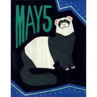 【日本画】5/5 Ferretフェレット『366DAYS』