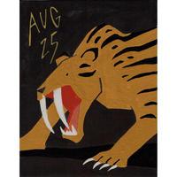 【日本画】8/25 Saber tigerサーベルタイガー『366DAYS』