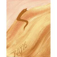 【日本画】7/16 Snakeヘビ『366DAYS』