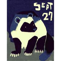 【日本画】9/27 Wolverineクズリ『366DAYS』