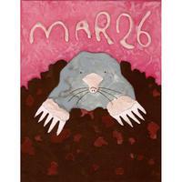 【日本画】3/26 Moleモグラ『366DAYS』