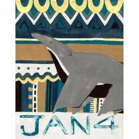 【日本画】1/4 Giant anteaterオオアリクイ『366DAYS』
