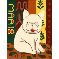 【日本画】3/18 French bulldogフレンチブルドッグ『366DAYS』