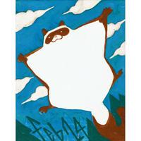 【日本画】2/24 Flying squirrelムササビ『366DAYS』