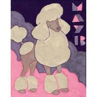 【日本画】5/13 Poodleプードル 『366DAYS』