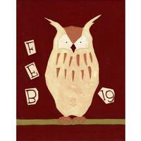 【日本画】2/19 Horned owlミミズク『366DAYS』