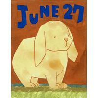 【日本画】6/27 Lop earedロップイヤー『366DAYS』