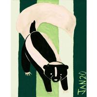 【日本画】1/20 Skunkスカンク『366DAYS』