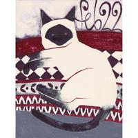 【日本画】2/22 Siameseシャムネコ『366DAYS』